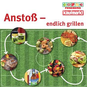 Texte für Grillbroschüre, Bereich Lebensmittel, Supermarkt, Rezepte - Arbeitsbeispiel zu Flyer & Broschüren auf textig.de