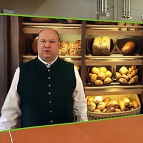 Textbeispiel Rede & Präsentation: Texte für die virtuelle Bäckerei: Reiner Wohllebe führt durch die Backstube - Arbeitsbeispeil von textig.de