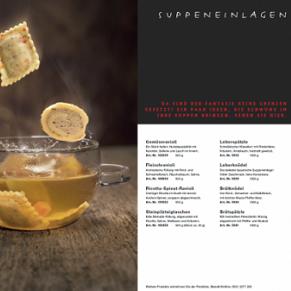 Texte und Redaktion für Kataloge, Unternehmensmappe, Bereich Lebensmittel, Metzgerei, Fleischerei, Convenience, Gastronomie - Referenz textig.de
